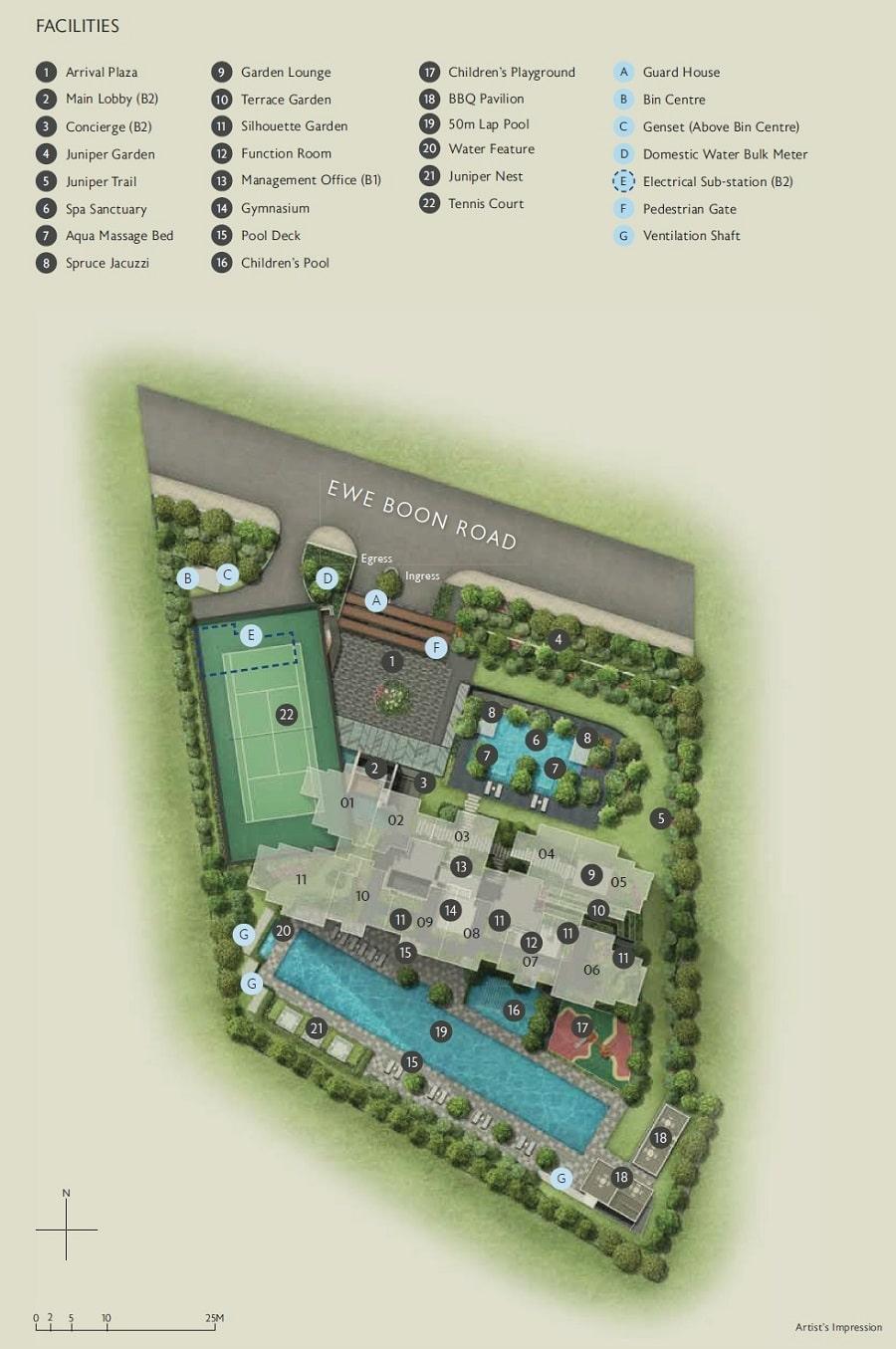 Juniper Hill Site Plan 1