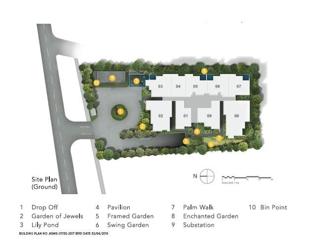 Jervois Prive Site Plan