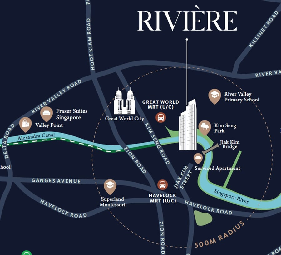 Riviere Map