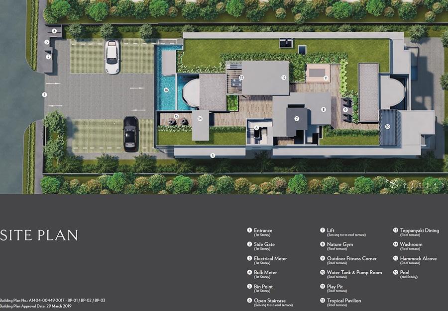 Seraya Residences Site Plan