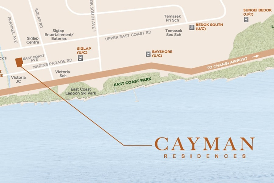 Cayman Residences Location Map