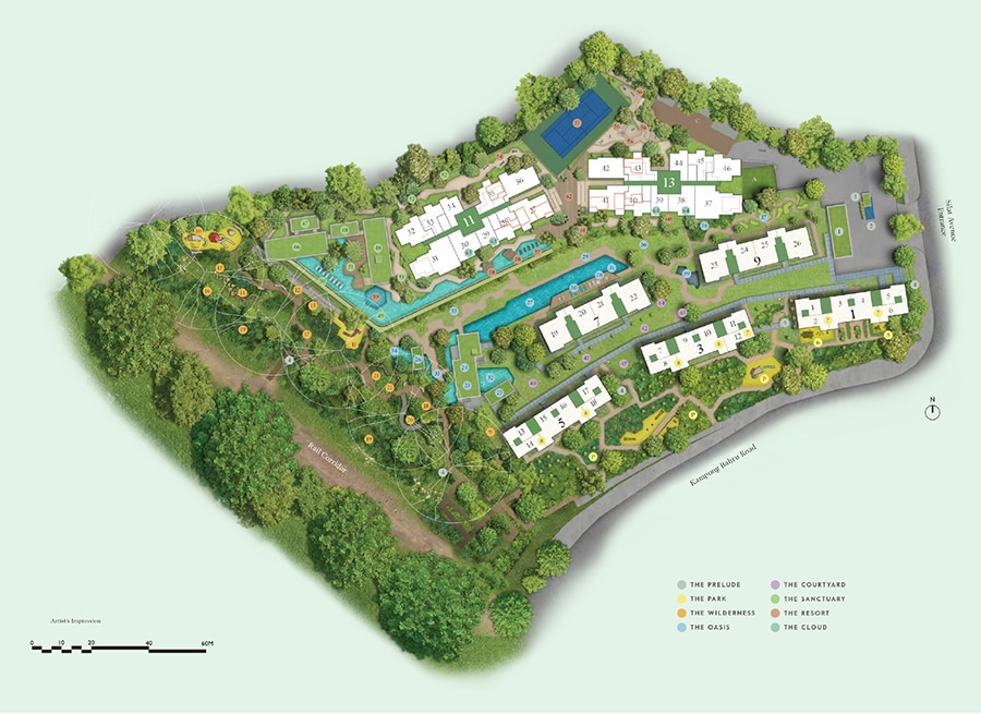 Avenue South Residence Site Plan 1