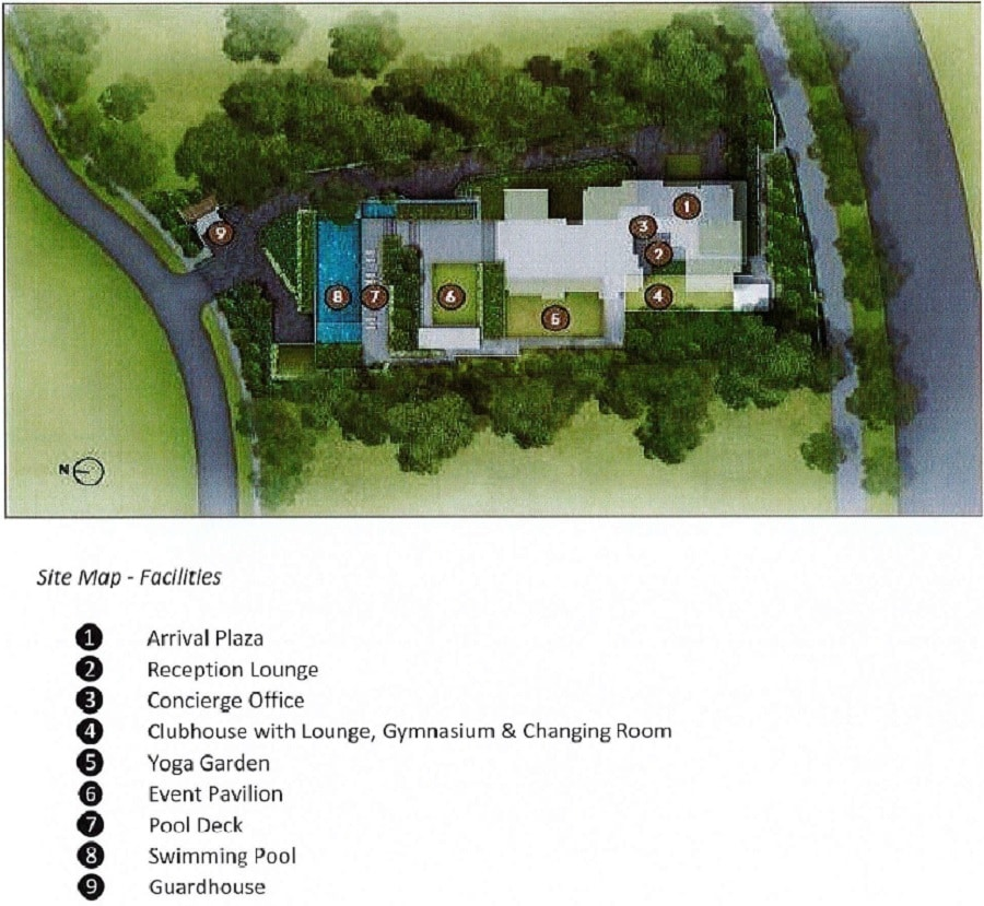 Cuscaden Reserve Site Plan
