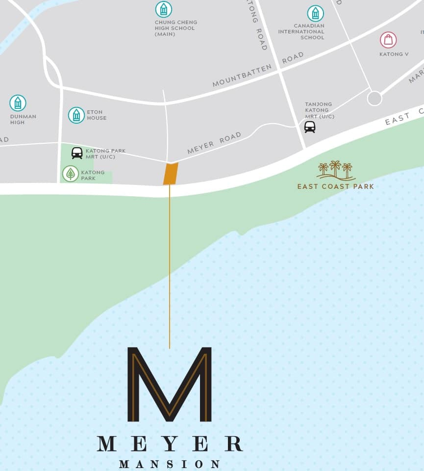 Meyer Mansion Location Map