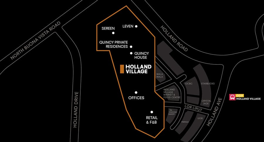 One Holland Village Location Map