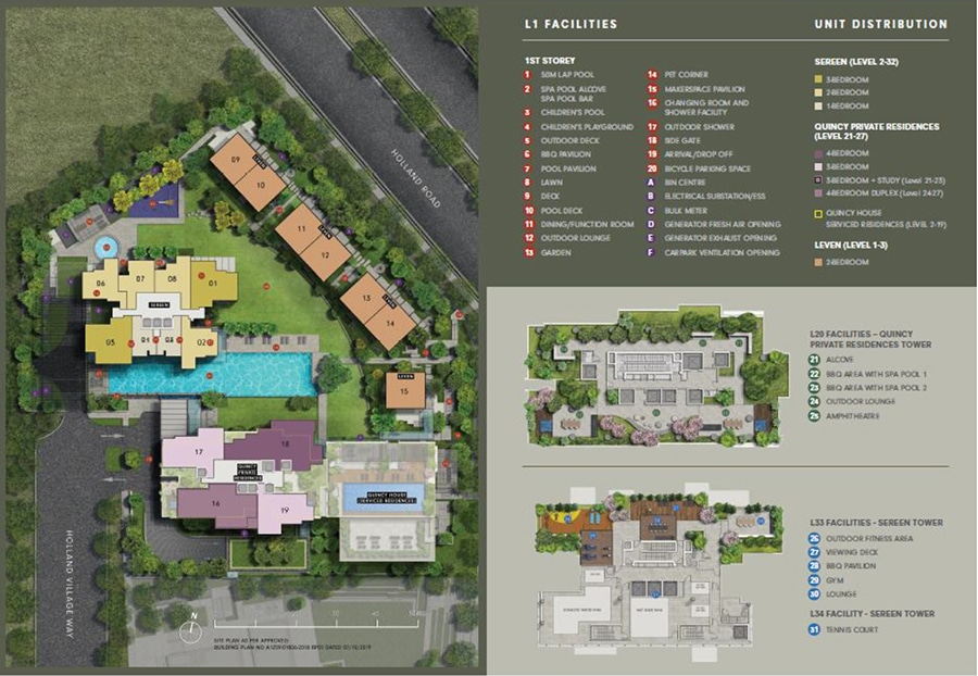 One Holland Village Site plan