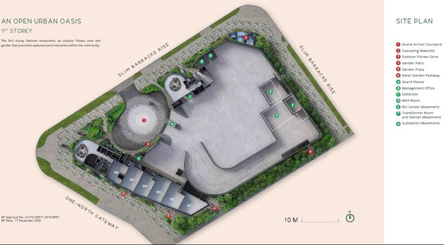 One North Eden Site Plan 1