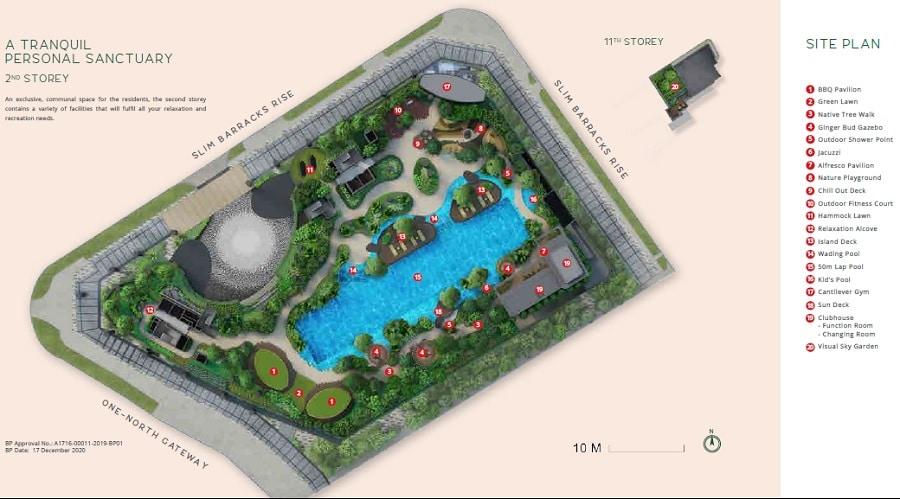 One North Eden Site Plan 2
