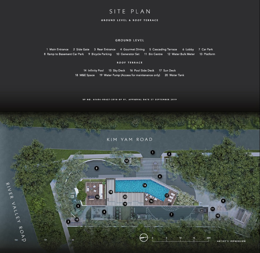 The Iveria Site Plan