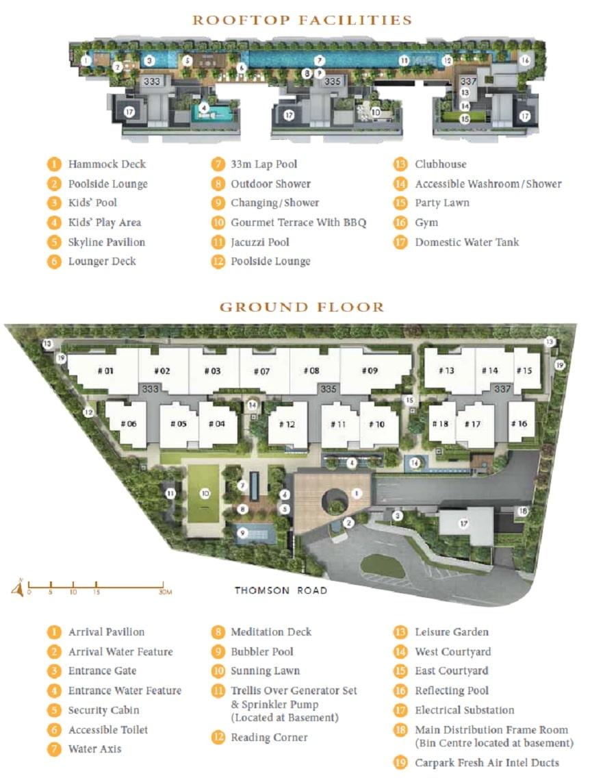 Peak Residences Site Plan