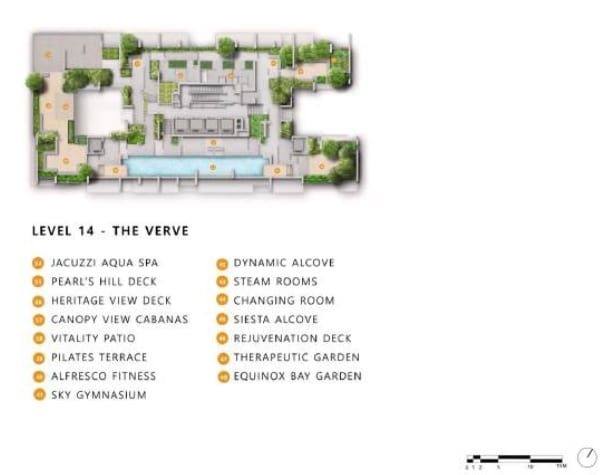 the landmark condo site plan 3