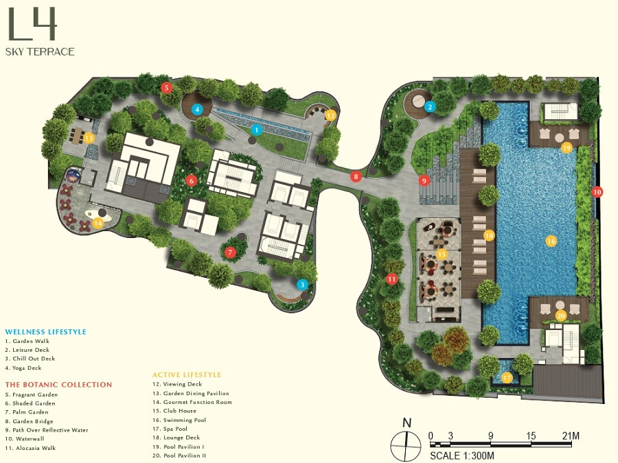 One Bernam Site Plan L4