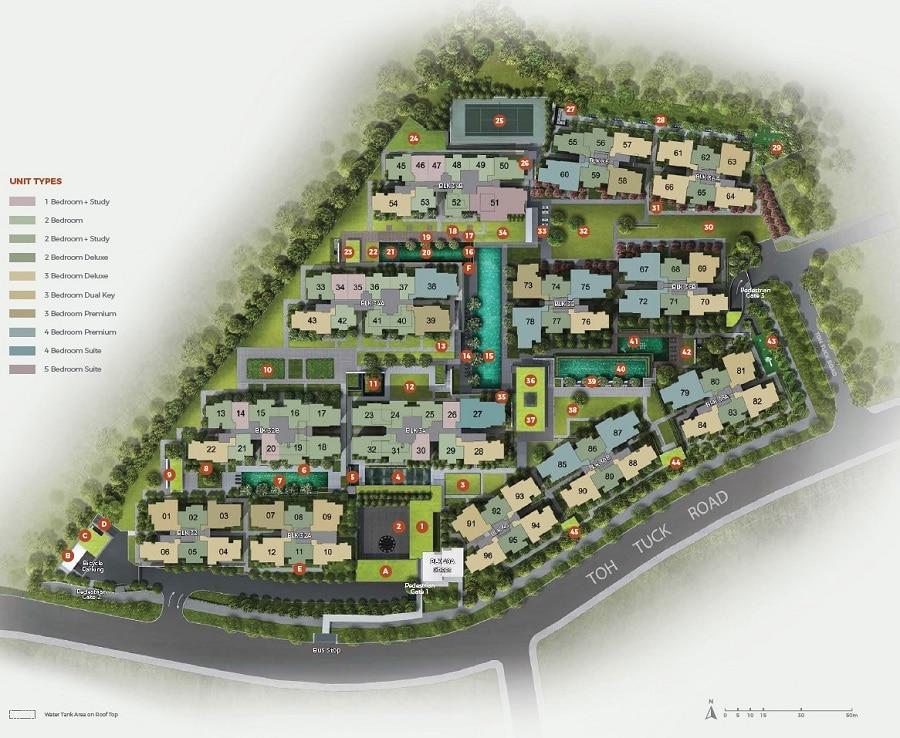 Forett Site Plan 1