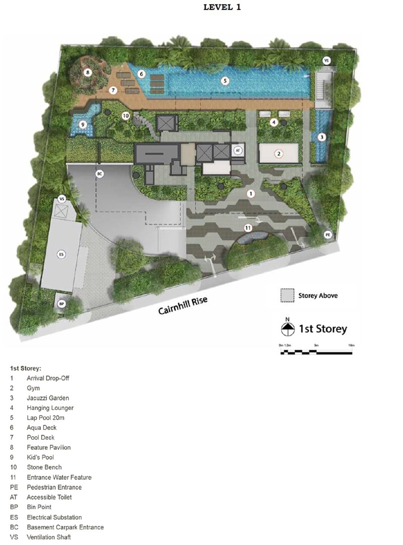 Cairnhill 16 site plan