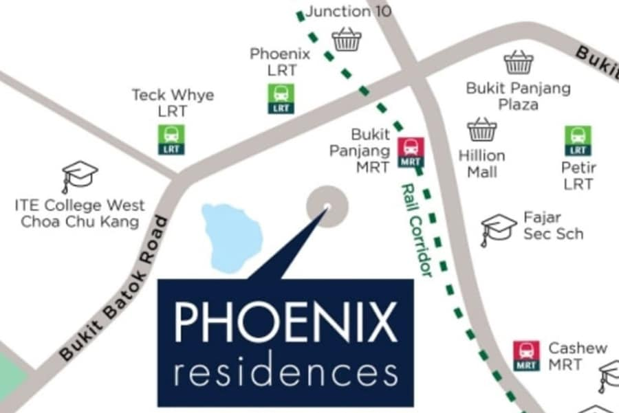 Phoenix Residences Location Map