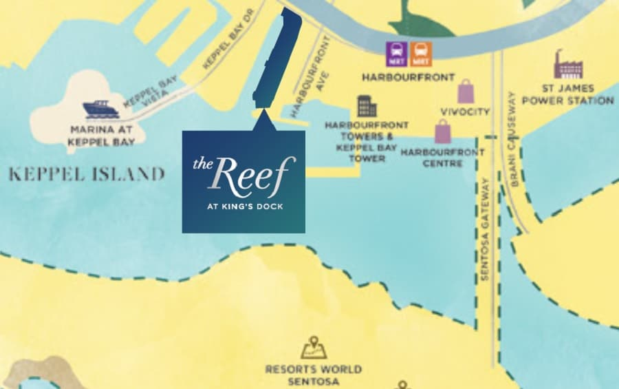 The Reef @ King's Docko Location Map
