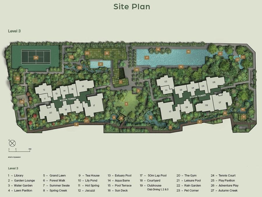 Midtown Modern Siteplan 1