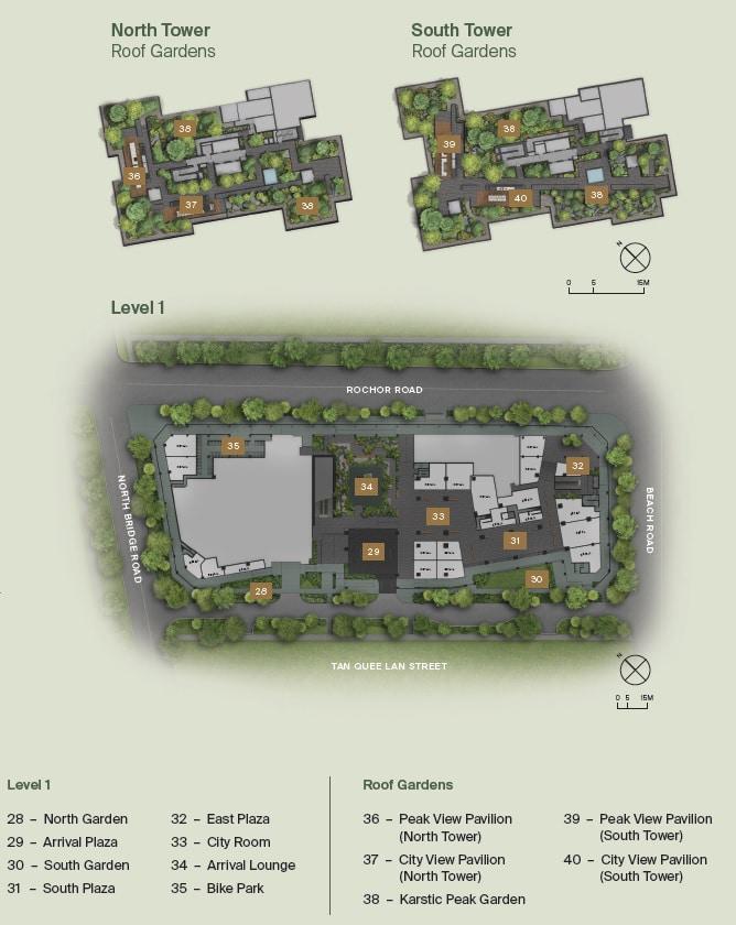 Midtown Modern Siteplan 2
