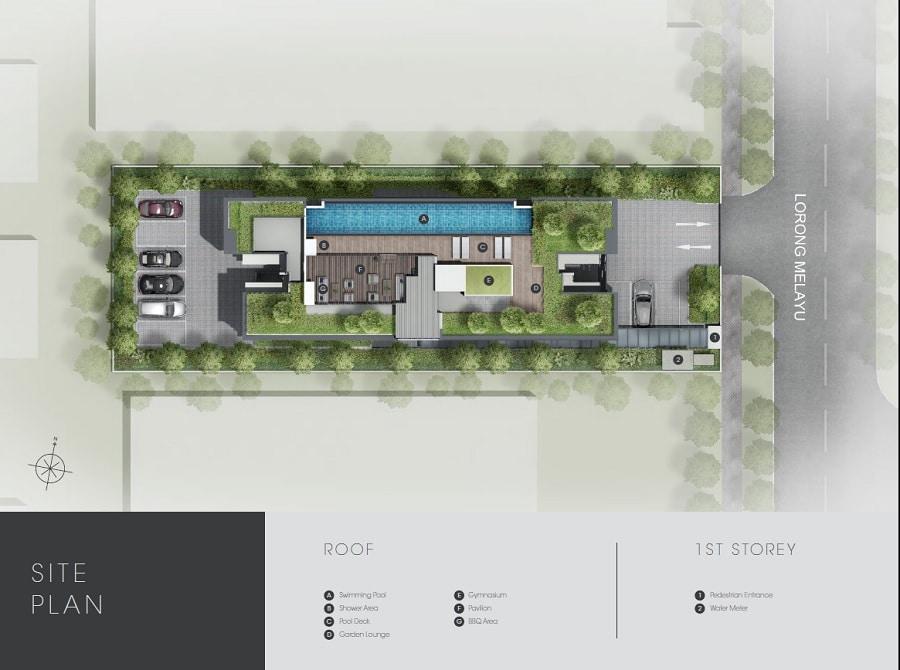 M Suites Site Plan