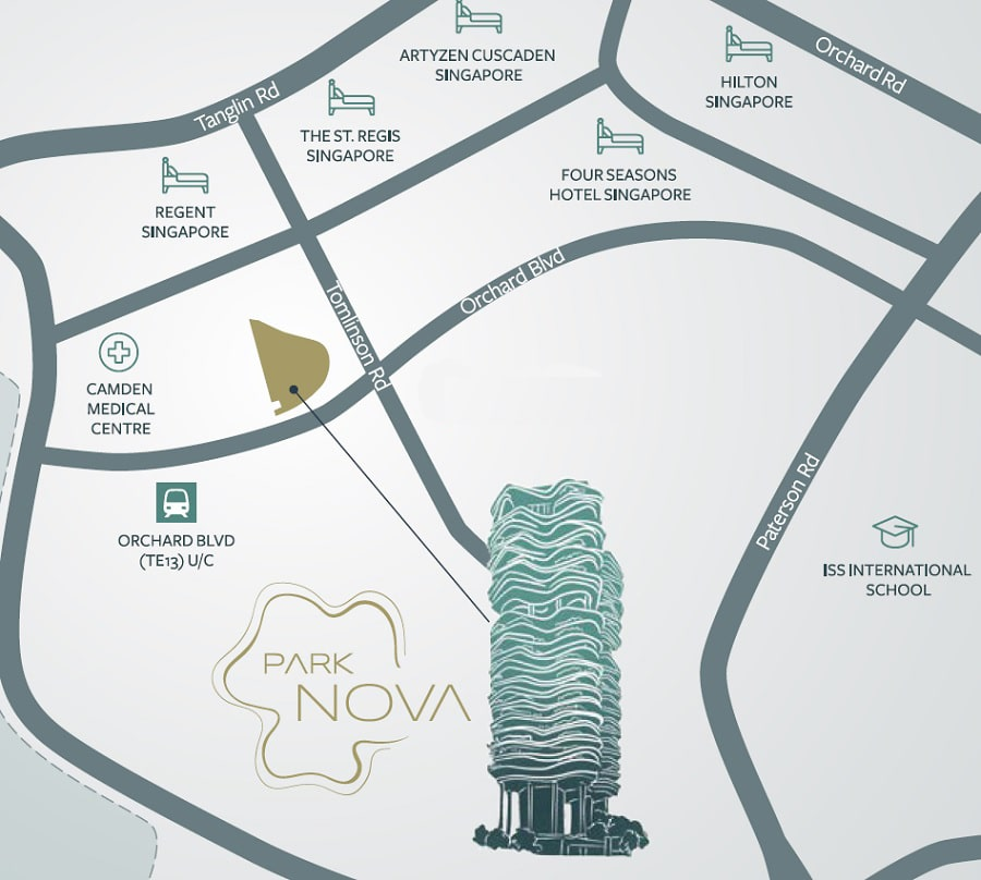 Park Nova Location Map