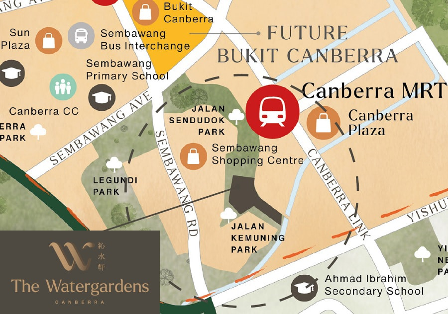 The Watergardens @ Canberra(沁水轩)