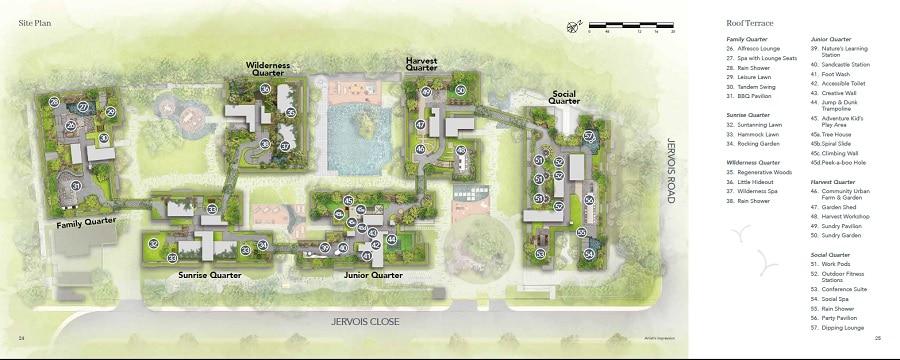 Jervois Mansion Site Plan 2